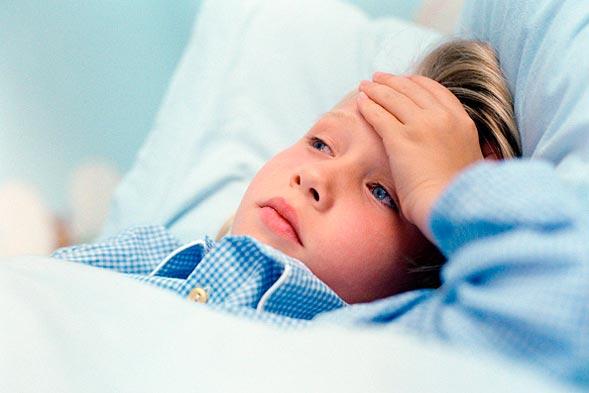 ¿Que hacer cuando su hijo sufre de dolor de cabeza?