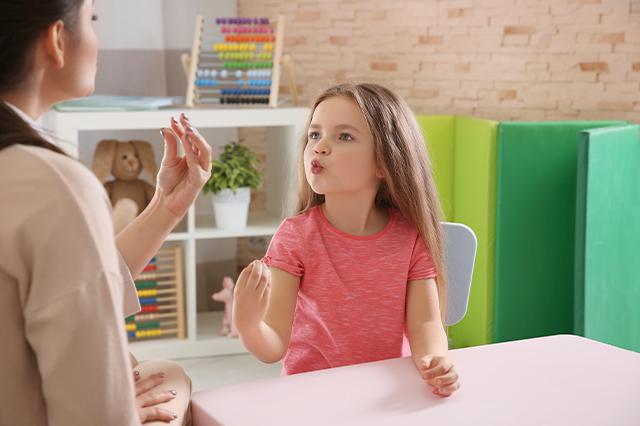 terapia del lenguaje y del habla